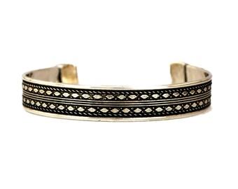 Tribal Bracelet, Boho Bracelet, Silver Bracelet, Cuff Bracelet, Gypsy Bracelet, Bohemian Bracelet, Indian Bracelet, Ethnic Jewelry