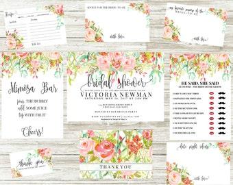 Wedding Invitations   Bridal Shower Invitations   Rose Collection
