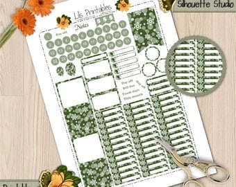 Happy Planner Month Kit 1, Printable Happy Planner Kit.