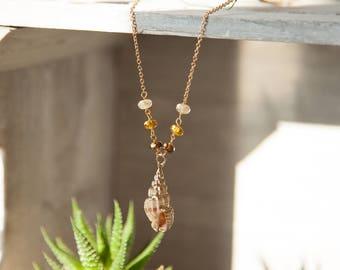 Seashell Necklace, Tropicool Necklace, Sea Shell Necklace, Tropical Necklace, Sea Lovers Necklace, Boho Mermaid Necklace, Mermaid Jewelry