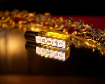 REDWOOD (FAIRY RING) perfume - natural perfume oil with Moss, Wood, Pine, Fern Smoke Cedar by Theater Potion