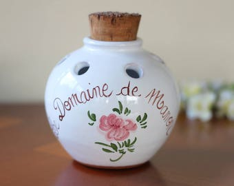 ceramic pot pot pourri holder