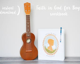 LDS Faith in God for Boys workbook [Instant Download]
