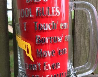 Beer glass, beer, beer mug, Dad beer glass, personalized, Wedding gift,  Party gift, Groomsman gift, beer gift