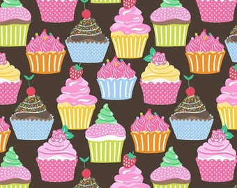 Lolly - Per Yd - Blend Fabs - by Maude Asbury - Cupcakes!
