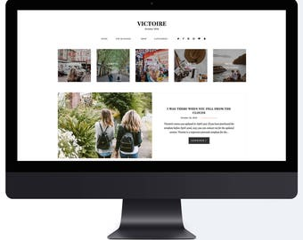 Victoire | Responsive Blogger Template + Free Installation