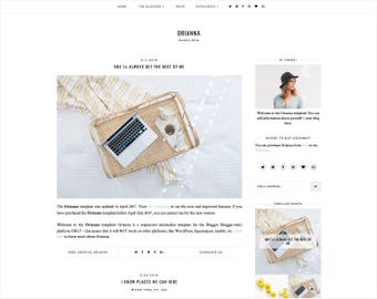 Orianna | Réactif de Blogger + Installation gratuite