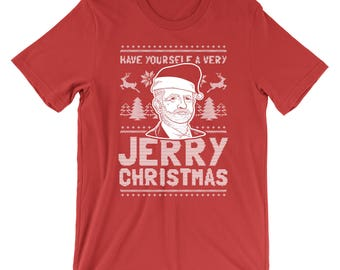 Have Yourself A Very Jerry Christmas T-Shirt - Jeremy Corbyn Shirt | Mens Womens Unisex Shirt Soft Top