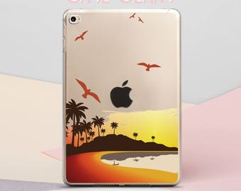 Island iPad 9.7 2017 Cover iPad Case iPad Air 2 Case iPad Mini 2 iPad 2 Case iPad 3 Case iPad 4 Case iPad Air Case Tropical Case CG4019