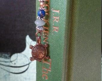 Gold Turtle Bookmark