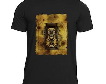 VITRUVIAN CAMERA Men's Artwear T-Shirt