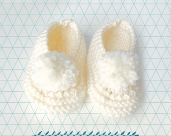 Small wool bunny slippers