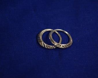Tuareg silver wedding ring
