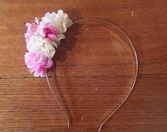 Flower Crown -  Cherry Blossom Fascinator