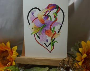 Greeting Cards - hand drawn with love
