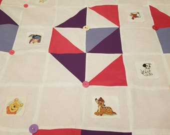 Quilted Disney Throw