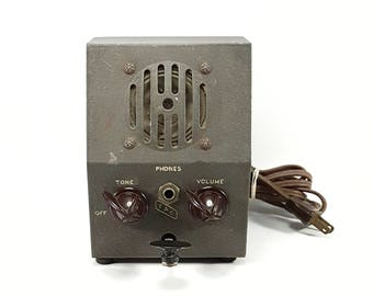 Vintage Deluxe Code Oscillator with Speaker Volume Tone  T.A.C. MS-710PR