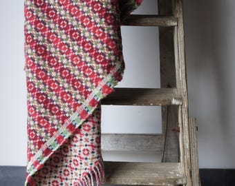 Wool Welsh style blanket (New)