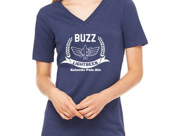 Disney Shirts Womens Buzz Lightbeer Shirt Buzz Lightyear Shirt Toy Story Shirt Disneyland Shirt Disney World Shirt Disney Cruise