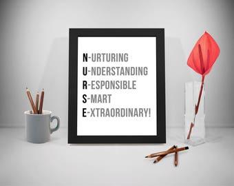 Nurse, Nurse Gift, Nursing Print, Nurse Prints,Nursing ,Nursing Gifts,Nurses Quotes, Nursing Wall Art , Nurse Quote, Nursing Quote, Hospital