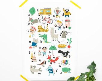 ABC poster NEDERLANDS (50 x 70 cm)