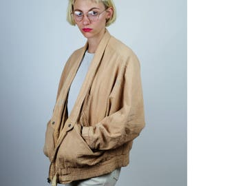 Vintage ESPIRIT COTTON BOMBER Jacket