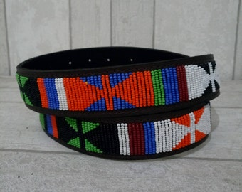 Masai Beaded Belts