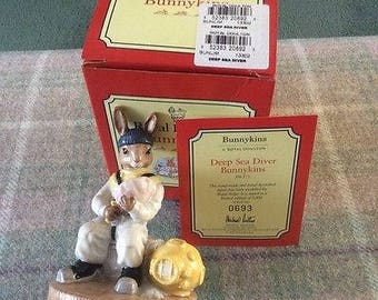 Royal Doulton Deep Sea Diver Bunnykins - Boxed - Limited Edition 0693 0f 3000