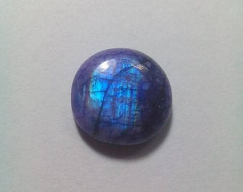 Purple Rainbow Moonstone 16 MM Cabochon