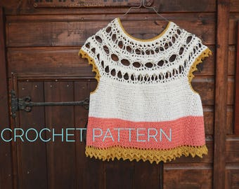 Xochitl Top Crochet Pattern
