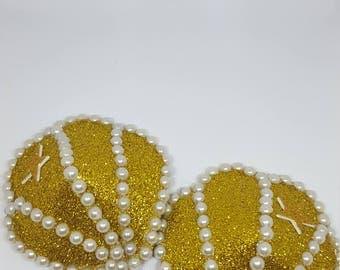Large Gold Seashell Nipple Pasties
