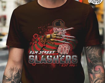 FREDDY KRUEGER Inspired/HORROR Shirt/Horror Tee/A Nightmare on Elm Street/Mens/Womens/Tanks/tees