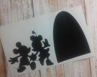 Mouse Decal/ Children Decal/ Mouse Base Board Decal,