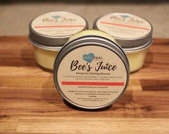 Bee's Juice Cutting Board Polish