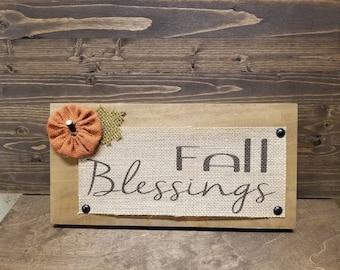 Fall Blessings-Thanksgiving Decor-Home Decor-Fall Decor