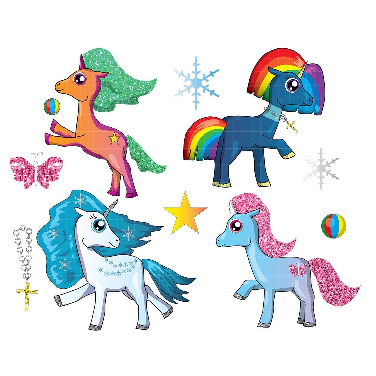 Cartoon unicorn svg unicorn t shirt design unicorn vector