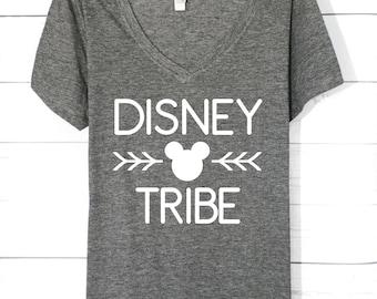 Disney Tribe | Disney Shirts | Disney Family Shirts | Disney Trip Shirts | DIsney Shirts For Women | Disney Tank Top | Cute Disney Shirts