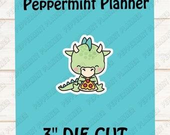 JJ eating Pizza --- Die Cut --- DC16