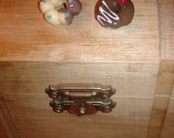 Japanese Style Donut Jewelry Earrings Chocolate with sprinkles strawberry
