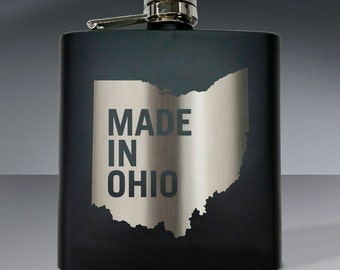 Made in Ohio 01 - 6 oz. Flask