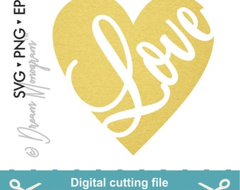Valentine's day Svg, Love Svg, Heart Svg, Valentines Svg, Kiss Svg, Hugs, Cutting files for use with Silhouette Cameo, ScanNCut and Cricut