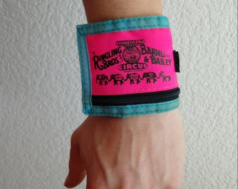 Barnum and Bailey wrist band