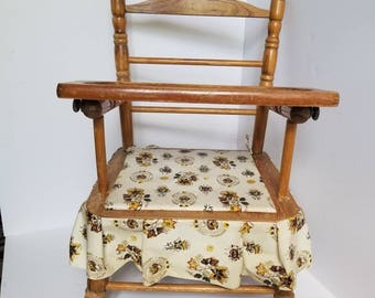 Vintage Toy Chair or Potty Chair