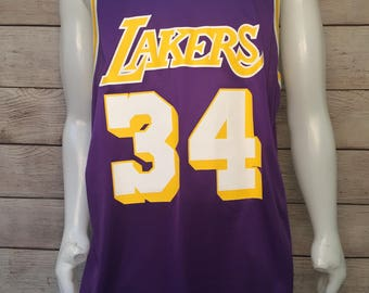 Rare Shaq Shaquille O'neal L.A. Lakers Champion Jersey