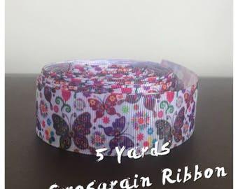 Butterfly Ribbon - 5 Yards