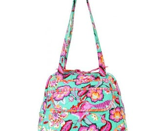 Bowl Me Over Purse Kit featuring Chipper by Tula Pink