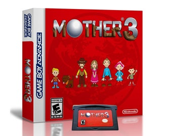 Mother 3 + (Case + Game) English Fan Translation - Earthbound  Nintendo Game Boy Advance GBA Custom Cart Box