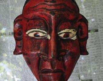 Carved wooden - AD063 mask