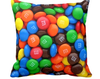 M&M Sweets - Candy - Cushion