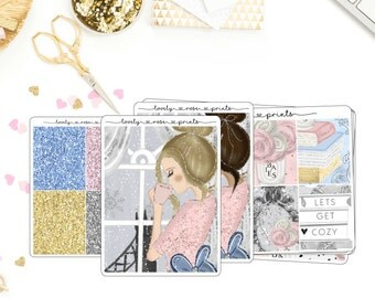 Cozy Moments EC Vertical Weekly Kit